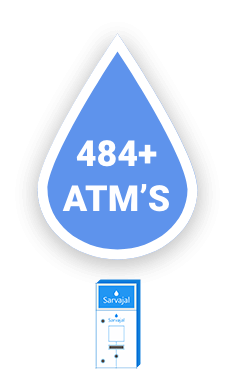 180+ Water ATMs